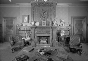 Twain_House_first_floor_library_HABS_CONN,2-HARF,16-63